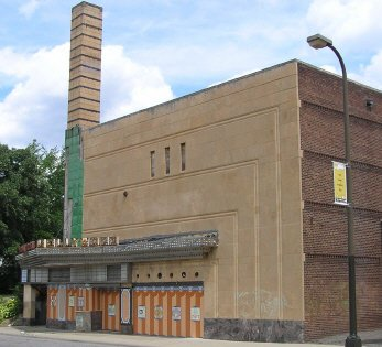 A picture of the theater building.