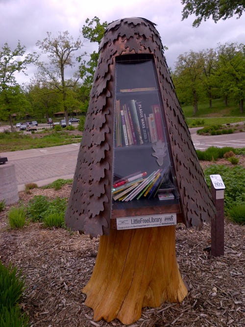 Little Free Library at Silverwood Park